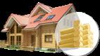 Рубленые (бревечатые) дома